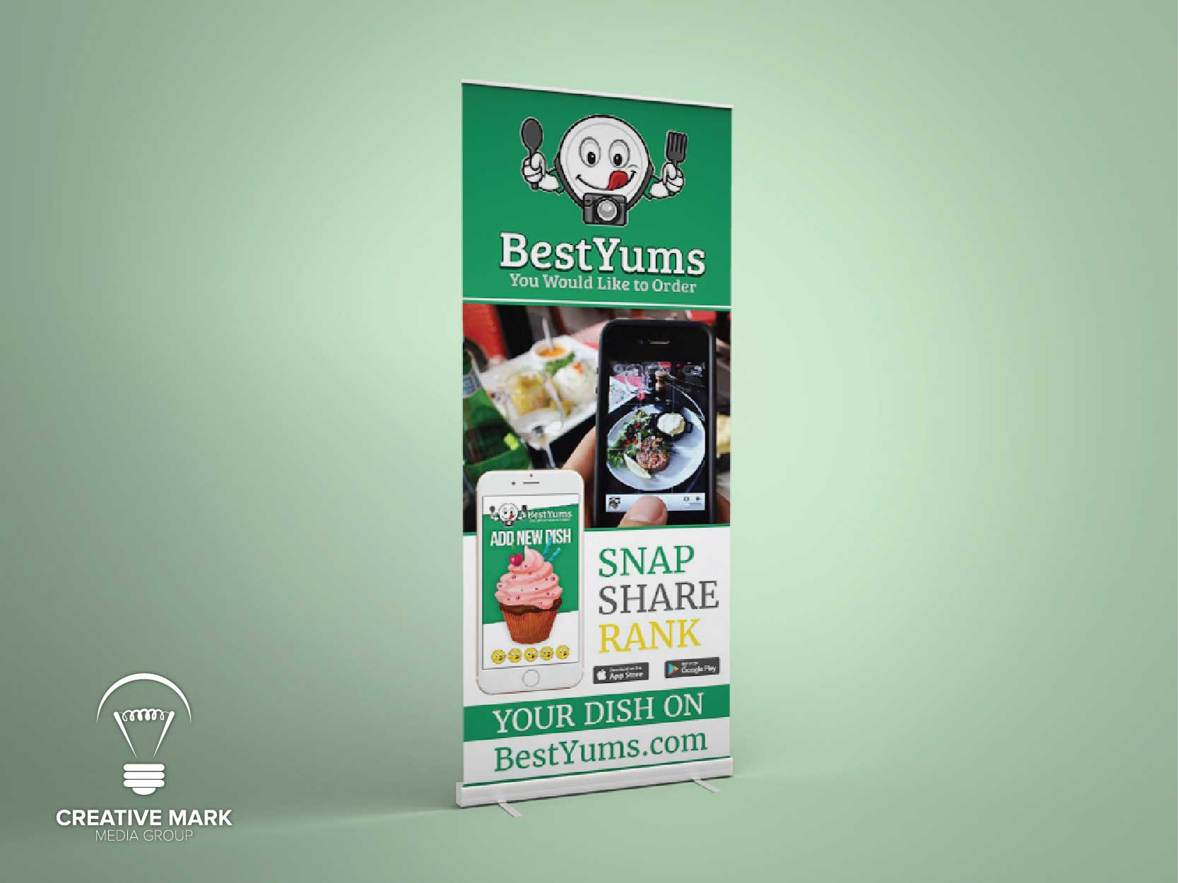 App Roll up Banner