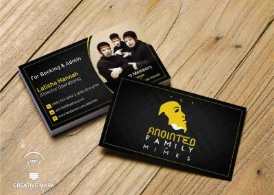 Christian Ministry Business Card Design