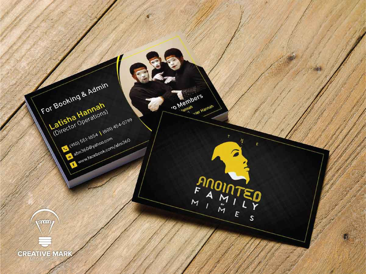 Christian Ministry Business Card