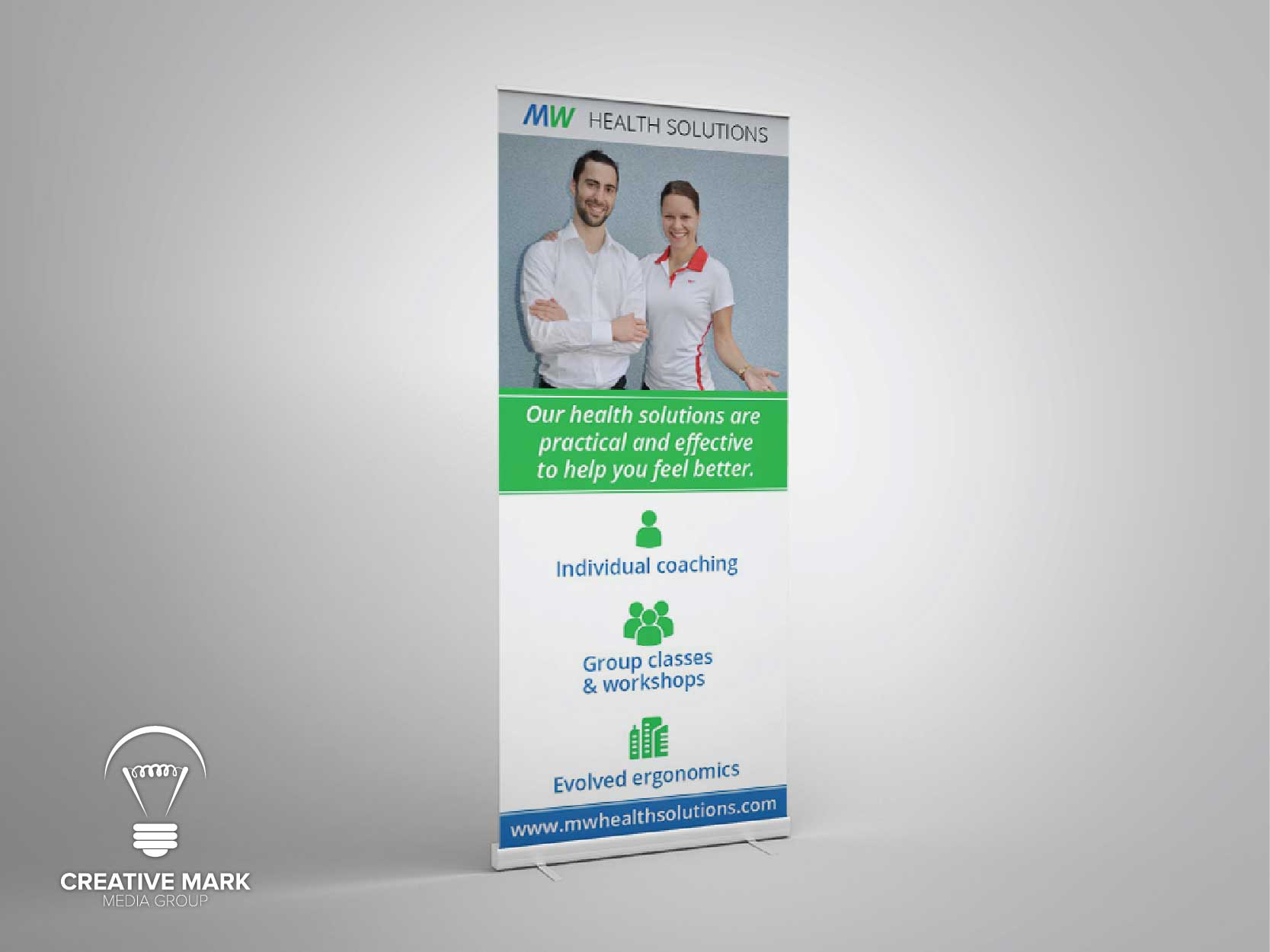 Coaching Roll up Banner