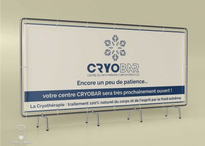 Cryotherapy Banner Design