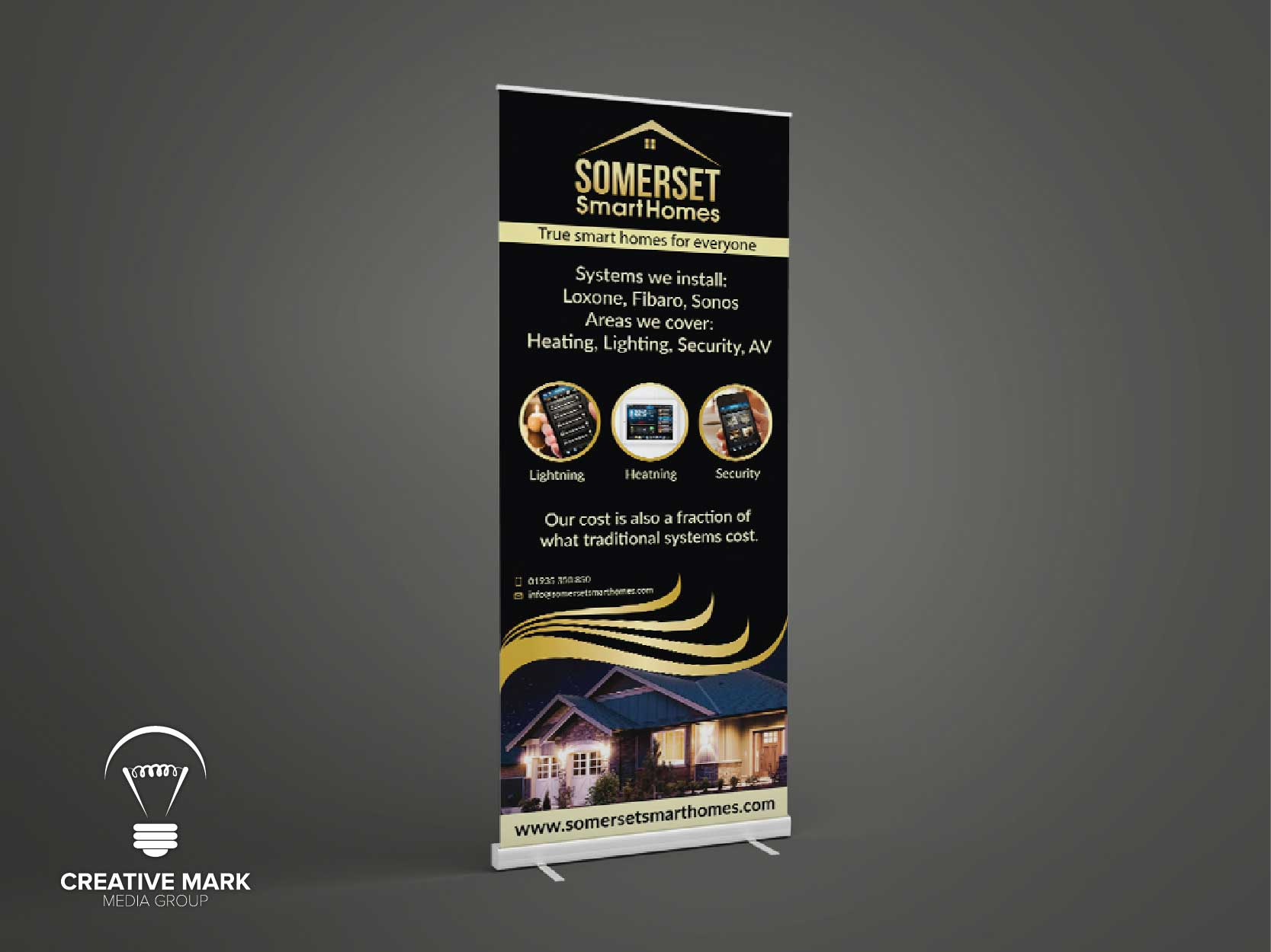 SmartHome Roll up Banner