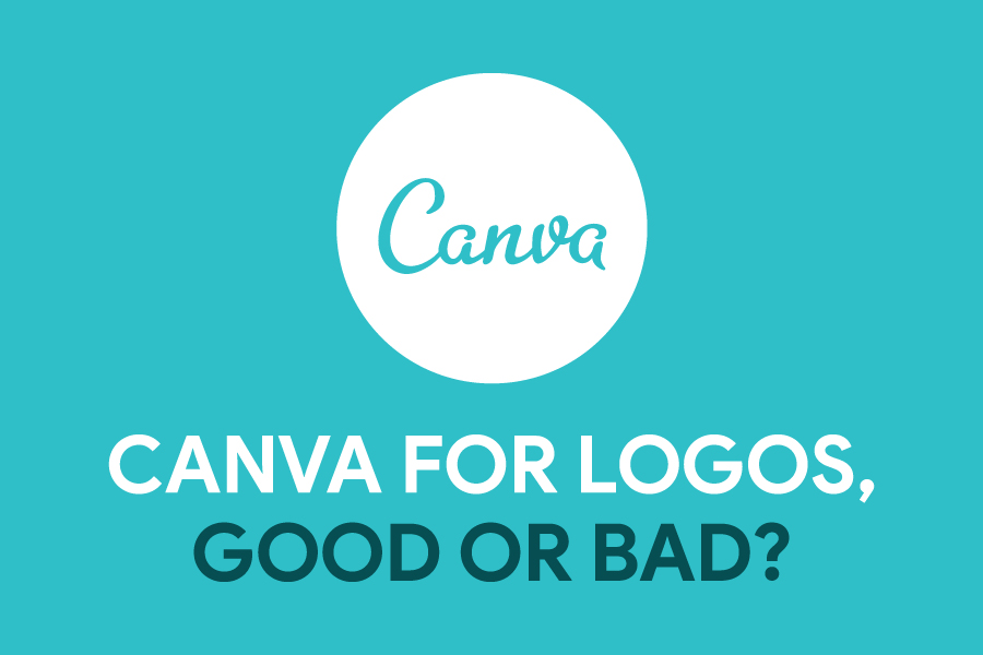 Canva for logos post